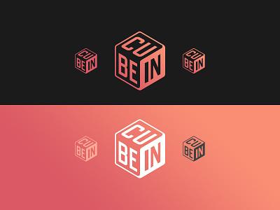 <cube-in> teach edu logotype education cube logo