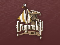 Dragonship Illustrated Logo
