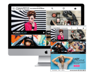 Giantess eCommerce Responsive Site