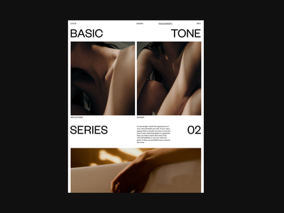 Layout Exploration layout design exploration muted colors natural poster clean web design minimal ux ui