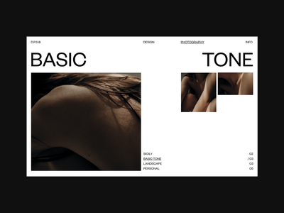 Layout Exploration 02 skincare natural layout exploration layout design typography body photography design web design minimal clean ux ui