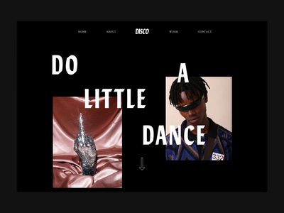 Disco Web Design Initial Concepts
