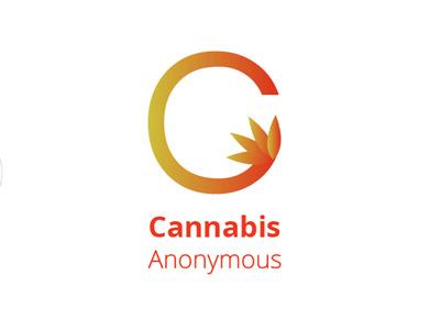 Cannabis Anoymous Logo branding