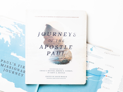 Journeys of the Apostle Paul missionary journey book