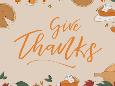 Thanksgiving Illustration line drawing illustration pumpkin pie fall give thanks thanksgiving
