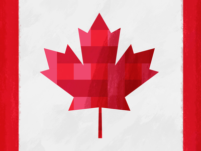 Canada Day canadian maple leaf red texture illustration day canada