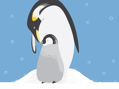 Father's day penguin love