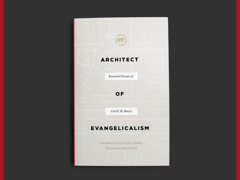 Architect of Evangelicalism blueprint plans today christianity essays evangelical architect design cover book
