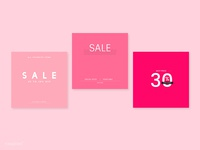 High Street Fashion Sales Set