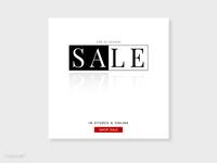 High Street Sale Templates Bw