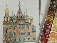 Church Of The Savior On Blood  Russia