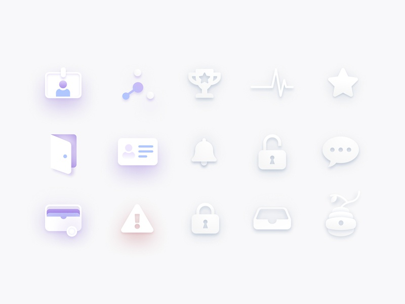 Bounties Network Icons ui design illustration icons
