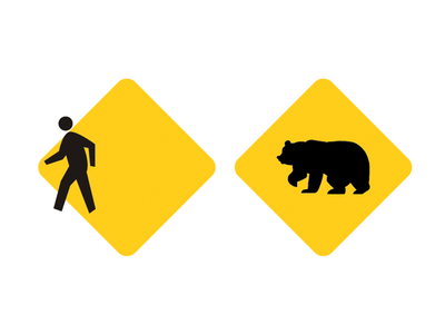 Grizzly Man signs