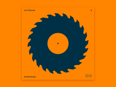 10x2015 / 8. Jim O'Rourke vinyl sawblade record jim orourke 10x2015