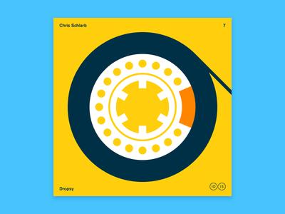 10x2015 / 7. Chris Schlarb vinyl illustration tape cassette chris schlarb 10x2015