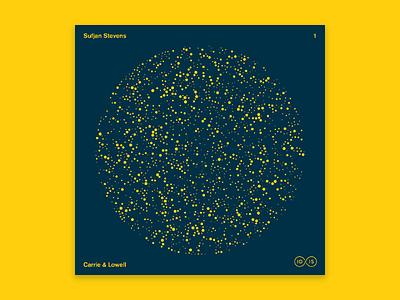 10x2015 / 1. Sufjan Stevens vinyl illustration fireflies stars sufjan stevens 10x2015