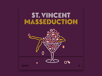 10x17, #9: St. Vincent - MASSEDUCTION