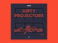 10x17, #4: Dirty Projectors - s/t 10x17