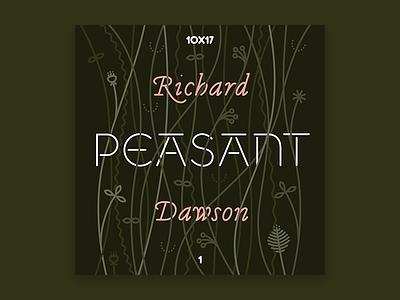 10x17, #1: Richard Dawson - Peasant 10x17
