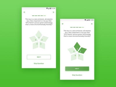 Star Ratings feedback stars ratings ux ui mobile app android