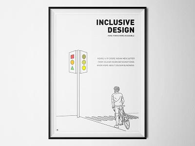 Inclusive Design minimalism shapes bauhaus traffic lights colours accessibility colour blindness inclusive design