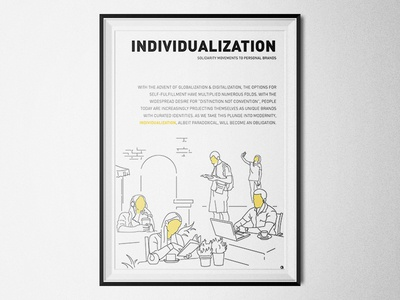 Individualization - Solidarity Movements to Personal Brands culture diversity lifestyle megatrend moderization personal brand individualization