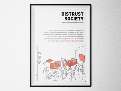 Distrust Society - A Crisis of Confidence and Credibility post-privacy blockchain neopolitics future cities confirmation bias trust authority business media politics transparency distrust society