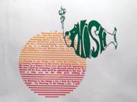 Free by Phish the band - Screen Printed Poster printmaking typography digital art screen printing