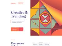 Creative agency web zuairia zaman