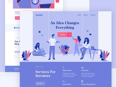 Consultancy Firm Website