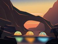 Desert camping 2x zuairia zaman