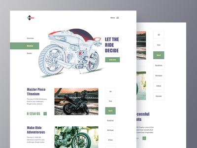 Automotive Company Website