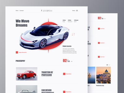 Automobile Company Website