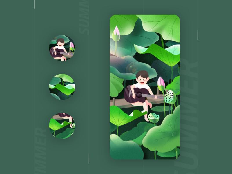 illustration_summer