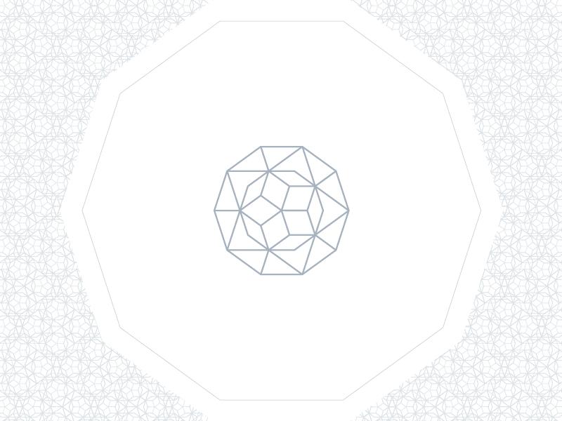 Penrose tiling lines geometric logo tiling penrose penrose tiling