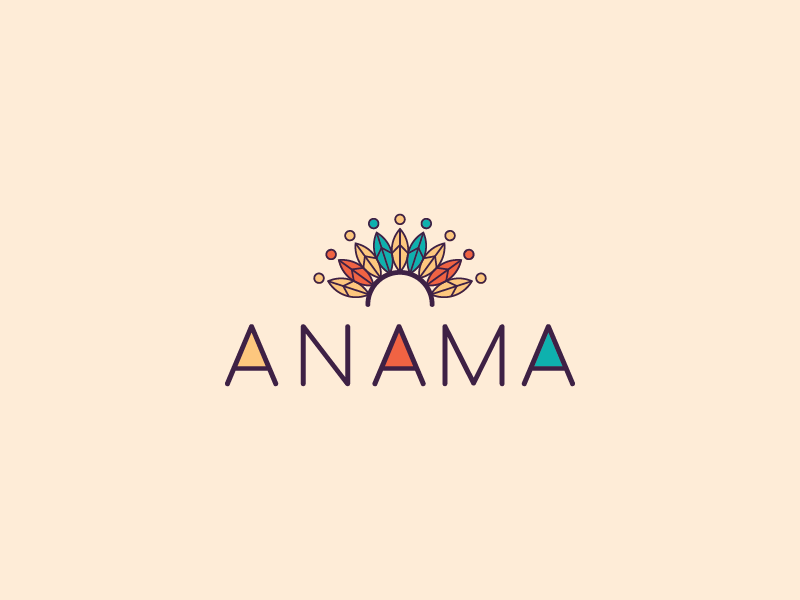 Anama logo marca brand