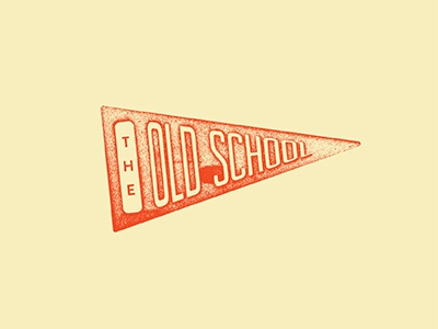 Old School Pennant