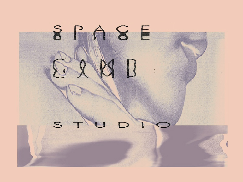 Space Camp Studio photo copy distorted scan typography alien galaxy camp space