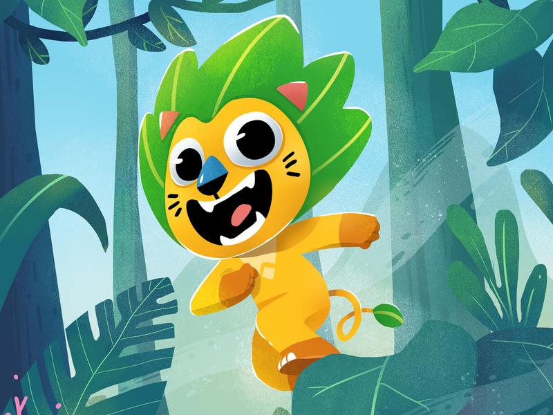Wara character design illustration design
