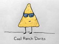 Cool Ranch Dorito