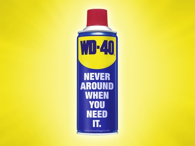Honest Slogans: WD-40