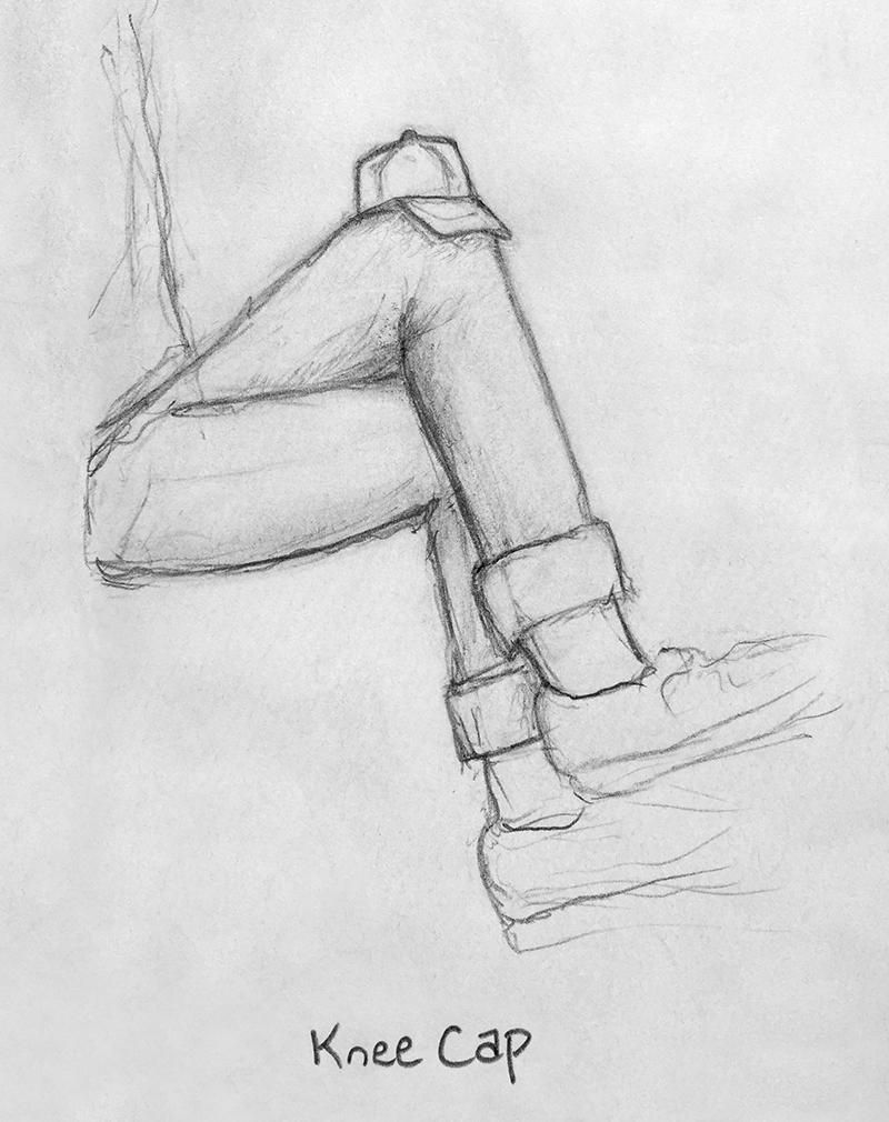 Kneecap dribbble