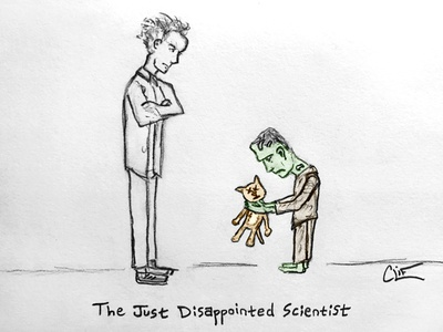 The Just Disappointed Scientist