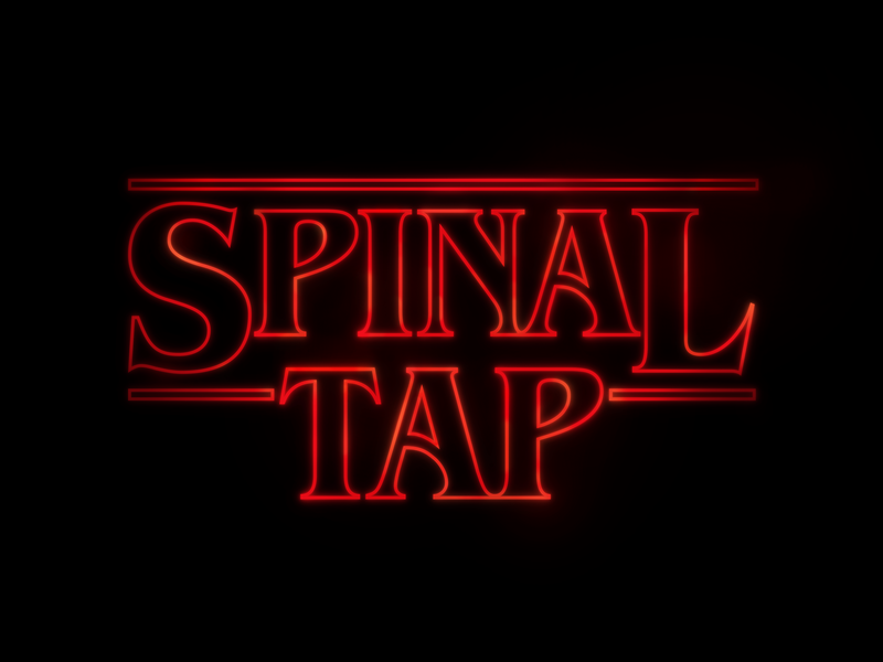 These Go To Eleven brand mashup branding parody stranger things spinal tap movie mashup