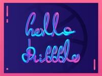 Hello Dribbble 02