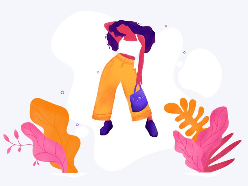 Adventurous Girl illustration