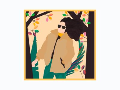 Adventurous Summer illustration