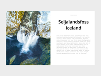 Large Article Card Iceland