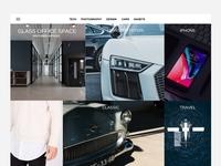 Manual Magazine/Blog Content Layout White