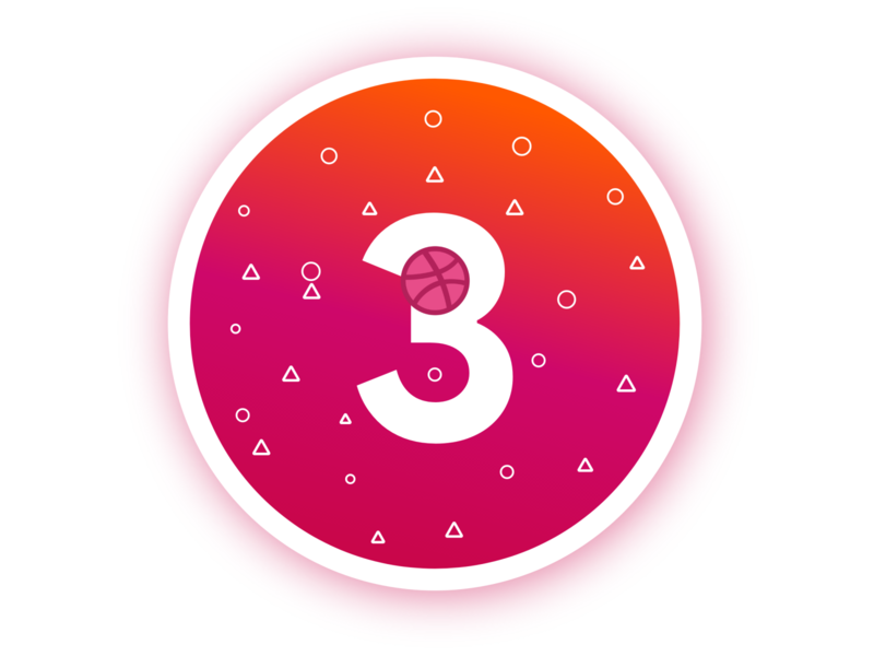 3 Dribbble Invites Givewaway